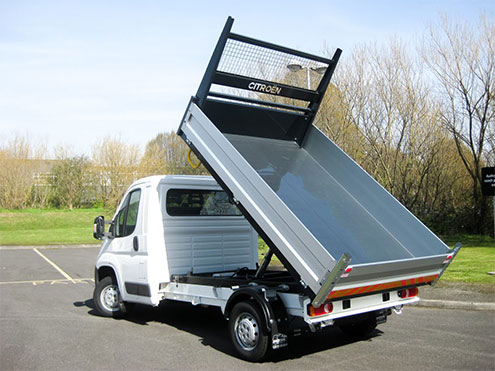 Citroen Tipper Conversion